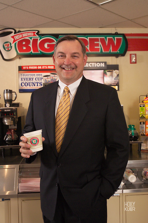 Portrait of CEO of 7-11
