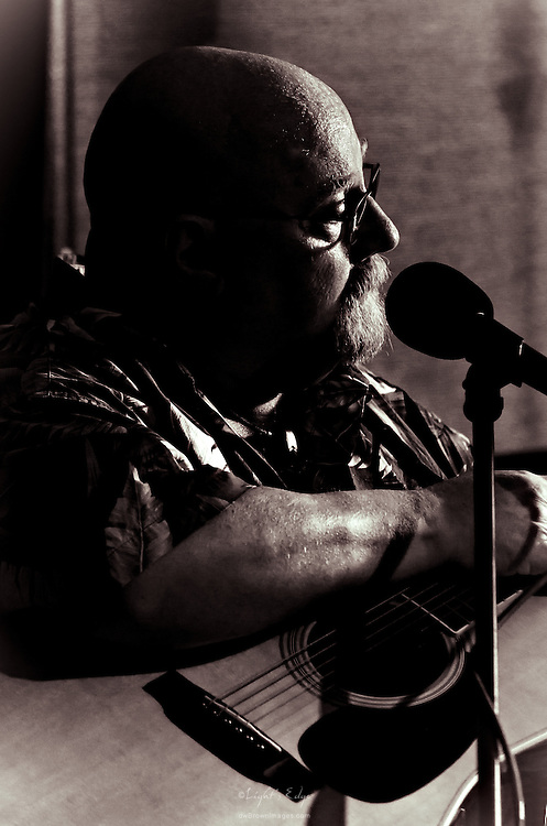 One of a few images from Jim Six's performance on St. Patrick's Day at The Bus Stop Music Cafe in Pitman, NJ .