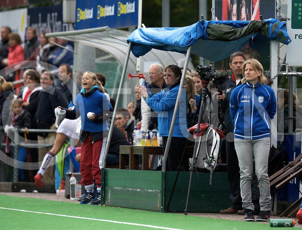BILTHOVEN - SCHC v Amsterdam Dames<br /> Hoofdklasse dames Play Off<br /> Foto: Technische tent.<br /> FFU PRESS AGENCY COPYRIGHT FRANK UIJLENBROEK