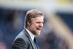 Steven Pressley, Falkirk manager..Falkirk's Football Club's last game of season 2011-2012..Falkirk 3 v 2 Ayr United, 5/5/2012..©Michael Schofield..
