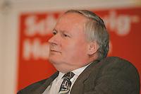20 MAR 1996, KIEL/GERMANY:<br /> Oskar Lafontaine, SPD, Parteivorsitzender und Ministerpräsident Saarland, Abschlußveranstaltung zum SPD Landtagswahlkampf, Kieler Ostseehalle, <br /> IMAGE: 19960320-03-01-06