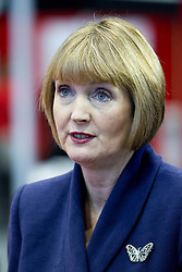 © Licensed to London News Pictures. 30/09/2012. Manchester, UK . Harriet Harman talking to Sky News presenter . Labour Party Conference Day 1 at Manchester Central . Photo credit : Joel Goodman/LNP