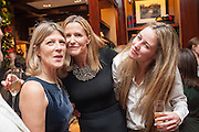 EDWINA HICKS; INDIA HICKS; MADDISON MAY BRUDENELL;  , Book launch for ' Daughter of Empire - Life as a Mountbatten' by Lady Pamela Hicks. Ralph Lauren, 1 New Bond St. London. 12 November 2012.