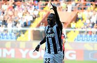 Kwadwo Asamoah esulta Juventus<br /> Torino 15/9/2012 Stadio Marassi<br /> Football Calcio 2012/2013 Serie A<br /> Genoa Vs Juventus<br /> Foto Federico Tardito Insidefoto