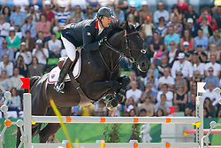 Patrice Delaveau, (FRA), Cortes C - Show Jumping Final Four - Alltech FEI World Equestrian Games™ 2014 - Normandy, France.<br /> © Hippo Foto Team - Leanjo de Koster<br /> 07-09-14