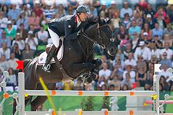 Patrice Delaveau, (FRA), Cortes C - Show Jumping Final Four - Alltech FEI World Equestrian Games™ 2014 - Normandy, France.<br /> © Hippo Foto Team - Leanjo de Koster<br /> 07-09-14