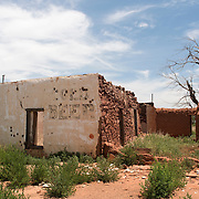Abandoned Store on Route 66 in Montoya, New Mexico
