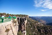Piedra Volada, Divisadero lookout, Copper Canyon, Chihuahua, Mexico