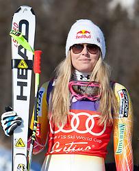 14-01-2012 SKIEN: FIS WORLD CUP: CORTINA<br /> Pista Olympia delle Tofane,  second place Lindsey Vonn of USA<br /> **NETHERLANDS ONLY** <br /> ©2012-FotoHoogendoorn.nl/EXPA/Johann Groder