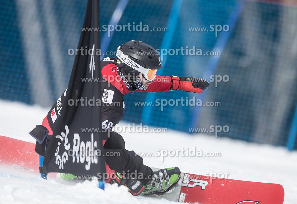 Baco Matej during the FIS snowboarding world cup race in Rogla (SI / SLO) | GS on January 20, 2018, in Jasna Ski slope, Rogla, Slovenia. Photo by Urban Meglic / Sportida