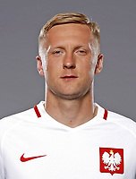 Uefa - World Cup Fifa Russia 2018 Qualifier / <br /> Poland National Team - Preview Set - <br /> Kamil Jacek Glik