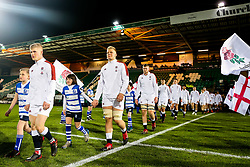 Hugh Tizard of England U20 - Rogan/JMP - 21/02/2020 - Franklin's Gardens - Northampton, England - England U20 v Ireland U20 - Under 20 Six Nations.