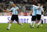 Fotball<br /> Tyskland v Argentina<br /> 03.03.2010<br /> Foto: Witters/Digitalsport<br /> NORWAY ONLY<br /> <br /> Jubel 0:1 Martin Demichelis (Argentinien)<br /> Testspiel Deutschland - Argentinien