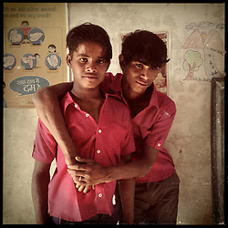 Boys who took part in the Center for Unfolding Learning Potential's (CULP) Pehchan Project are seen in a village of Rajasthan, India, April 5, 2013. Under Indian law, children younger than 18 cannot marry. Yet in a number of India's states, at least half of all girls are married before they turn 18, according to statistics gathered in 2012 by the United Nations Population Fund (UNFPA). However, young girls in the Indian state of Rajasthan—and even a few boys—are getting some help in combatting child marriage. In villages throughout Tonk, Jaipur and Banswara districts, the Center for Unfolding Learning Potential, or CULP, uses its Pehchan Project to reach out to girls, generally between the ages of 9 and 14, who either left school early or never went at all. The education and confidence-building CULP offers have empowered young people to refuse forced marriages in favor of continuing their studies, and the nongovernmental organization has provided them with resources and advocates in their fight.