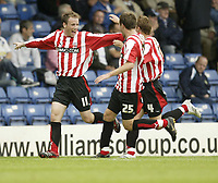 Photo: Aidan Ellis.<br /> Bury FC v Brentford. Coca Cola League 2. 01/09/2007.<br /> Brentford's Glenn Poole celebrates his goal