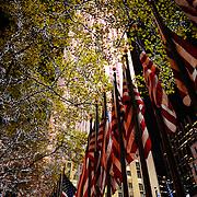 Rockefeller Centre building on Fifth Avenue, Manhattan, New York City, New York, United States of America, North America