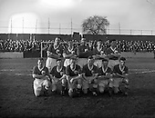 1958 - League of Ireland: Drumcondra  v Limerick at Tolka Park