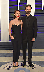 019 Vanity Fair Oscar Party hosted by editor Radhika Jones held at the Wallis Annenberg Center for the Performing Arts on February 24, 2019 in Beverly Hills, CA. © OConnor-Arroyo/AFF-USA.com. 24 Feb 2019 Pictured: Natalie Portman and Benjamin Millepied. Photo credit: OConnor-Arroyo/AFF-USA.com / MEGA TheMegaAgency.com +1 888 505 6342