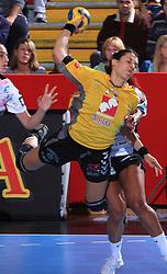 Andrea Lekic (77) at handball match of 2nd Round of EHF Women`s Championsleague between RK Krim Mercator (SLO) and Metz Handball (FRA), in Arena Kodeljevo, Ljubljana, Slovenia, on November 9, 2008. Metz  won match against RK Krim Mercator with 31:26.