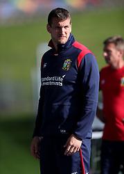 British & Irish Lions Sam Warburton during the training session at the QBE Stadium, Auckland.