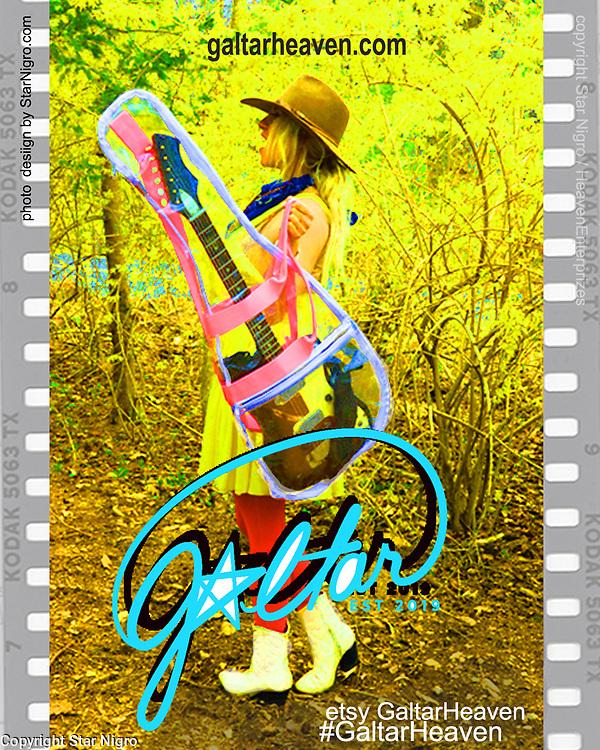 Galtarheaven.com buy guitar bags <br /> <br /> photo/design Star Nigro.com<br /> <br /> Model/CEO Galtar Heaven Enterprizes<br /> Journey Blue Heaven<br /> Galtarheaven.com<br /> <br /> #galtarheaven<br /> #starnigrophoto