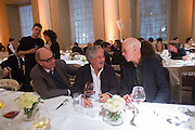 NICHOLAS LOGSDAIL; ANISH KAPOOR; RICHARD LONG, Lisson Gallery dinner, Banqueting House. London. 15 October 2013