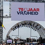 NLD/Terneuzen/20190831 - Start viering 75 jaar vrijheid, Podium 75 jaar Vrijheid