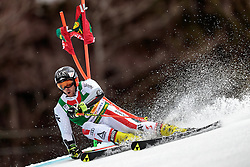 04.03.2017, Podkoren, Kranjska Gora, SLO, FIS Weltcup Ski Alpin, Kranjska Gora, Riesenslalom, Herren, 1. Lauf, im Bild Philipp Schoerghofer (AUT) // Philipp Schoerghofer of Austria in action during his 1st run of men's Giant Slalom of FIS ski alpine world cup at the Podkoren in Kranjska Gora, Slovenia on 2017/03/04. EXPA Pictures © 2017, PhotoCredit: EXPA/ Johann Groder