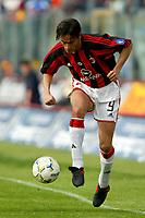 Modena 4/4/2004 Campionato Italiano Serie A 28a Giornata - Matchday 28<br />Modena Milan 1-1<br />Filippo Inzaghi (Milan)<br />Foto Andrea Staccioli Graffiti