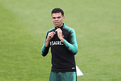 May 30, 2018 - Lisbon, Portugal - Portugal's defender Pepe in action during a training session at Cidade do Futebol (Football City) training camp in Oeiras, outskirts of Lisbon, on May 30, 2018, ahead of the FIFA World Cup Russia 2018 preparation matches against Belgium and Algeria...........during the Portuguese League football match Sporting CP vs Vitoria Guimaraes at Alvadade stadium in Lisbon on March 5, 2017. Photo: Pedro Fiuzaduring the Portugal Cup Final football match CD Aves vs Sporting CP at the Jamor stadium in Oeiras, outskirts of Lisbon, on May 20, 2015. (Credit Image: © Pedro Fiuza/NurPhoto via ZUMA Press)