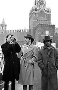 Brinsley Ford, David Byrne, Peter Gabriel and The Edge U2 in Red Square - Greenpeace 1989