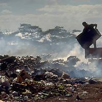 Rubbish dump, Rarotonga, Cook Islands, South Pacific.  Accession #: 0.95.205.001.02