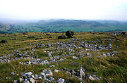 Norber glacial erratics, Yorkshire Dales national park, England