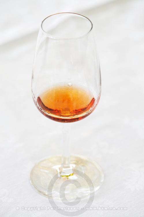 glass of tawny quinta do vallado douro portugal