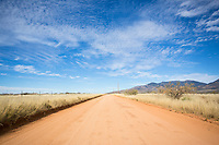 Scenes along the Klondyke Road on the way to the east side entrance of Aravaipa Canyon Preserve, AZ.
