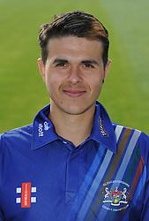 Gloucestershire player, Robbie Montgomery - Photo mandatory by-line: Dougie Allward/JMP - 07966 386802 - 10/04/2015 - SPORT - CRICKET - Bristol, England - Bristol County Ground - Gloucestershire County Cricket Club Photocall.