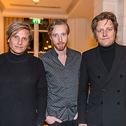 NLD/Amsterdam/20191125 - Boekpresentatie Victor Mids, Frans van Zoest, Spike, Jamie Westland en ......