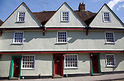 Buildings in the Dutch quarter Colchester Essex