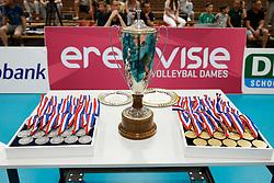 20180509 NED: Eredivisie Coolen Alterno - Sliedrecht Sport, Apeldoorn<br />De Beker behorend bij het Landskampioenschap Eredivisie Vrouwen<br />©2018-FotoHoogendoorn.nl