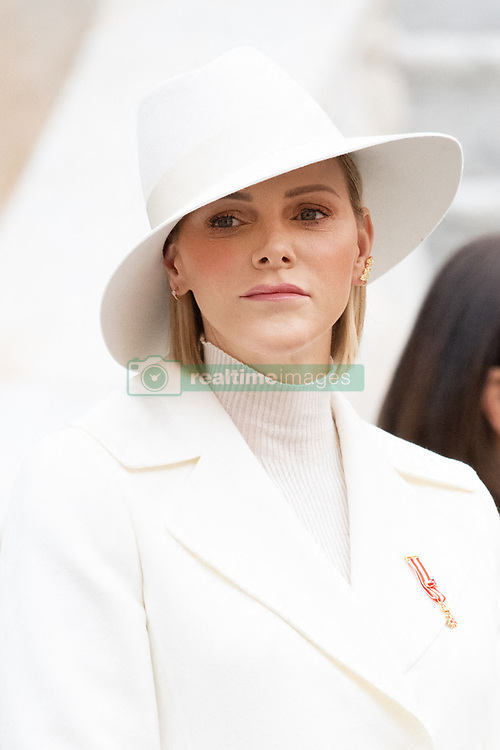 Princess Charlene of Monaco during the Monaco National Day Celebrations in Monaco, on November 19, 2019. Photo by David Niviere/ABACAPRESS.COM