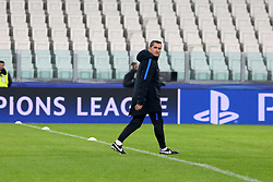 November 21, 2017 - Turin, Piedmont, Italy - Ernesto Valverde, head coach of FC Barcelona, during FC Barcelona training session on the eve of the UEFA Champions League (Group D) match between Juventus FC and FC Barcelona at Allianz Stadium on 21 November, 2017 in Turin, Italy. (Credit Image: © Massimiliano Ferraro/NurPhoto via ZUMA Press)