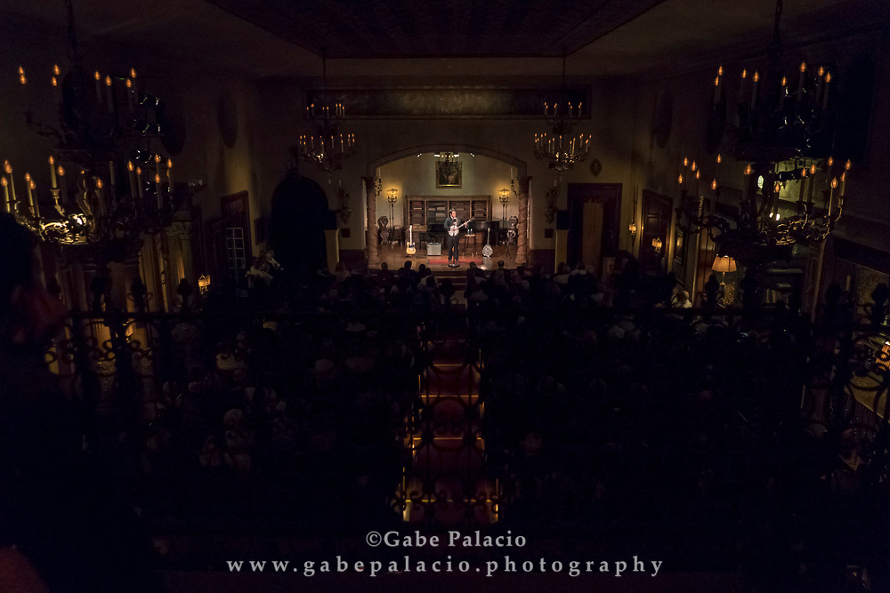 Noam Pikelny and Ladybird perform <br /> Roots Music in the Music Room in the Rosen House at Caramoor in Katonah New York on October 21, 2017. <br /> (photo by Gabe Palacio)
