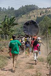 Moving The Water Tank To The Batwa Village
