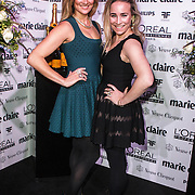 NLD/Amsterdam/20150119 - De Marie Claire Prix de la Mode awards, Lieke van Lexmond en zus Jetteke van Lexmond