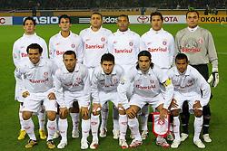 Equipe do Sport Clube Internacional, campeão do Mundial Interclubes da FIFA 2006 sobre o Barcelona, da Espanha no estádio Internacional de Yokohama. FOTO: Jefferson Bernardes/Preview.com