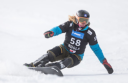 Mortila Zaharescu during the FIS snowboarding world cup race in Rogla (SI / SLO) | GS on January 20, 2018, in Jasna Ski slope, Rogla, Slovenia. Photo by Urban Meglic / Sportida