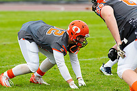 KELOWNA, BC - SEPTEMBER 22: Jack Proskow #52 of Okanagan Sun warms up against the Valley Huskers at the Apple Bowl on September 22, 2019 in Kelowna, Canada. (Photo by Marissa Baecker/Shoot the Breeze)