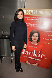 Lucy Verasamy at a private screening of Jackie hosted by Rosie Nixon and Tabitha Webb at the Bulgari Hotel, 171 Knightsbridge, London,  England. 12 January 2017.