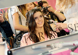Kendall Jenner is seen backstage before the Victoria's Secret Fashion Show at Lexington Avenue Armory in New York City, NY, USA, on November 10, 2015. Photo by Dennis van Tine/ABACAPRESS.COM