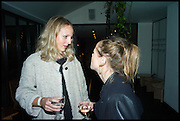 KIM WILLIAMS; BEATRICE GIBSON, Frieze party, ACE hotel Shoreditch. London. 18 October 2014